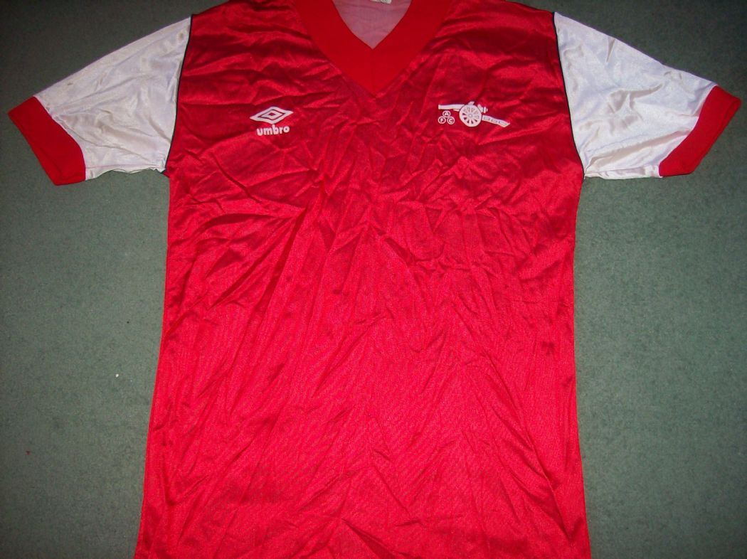 39d62cdda Global Classic Football Shirts   1982 Arsenal   Vintage Retro Old Soccer  Jersey
